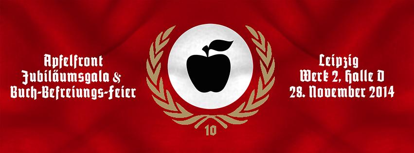 Apfelfront-Jubiläum